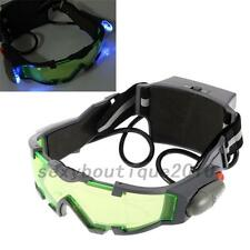 Night Vision Goggles Windproof glasses with Flip-out Lights Adults Creative New