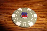 USAF TAC Tactical Air Command Poker Chip,Golf Ball Marker,Card Guard