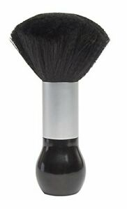 Diane Large Neck Duster, Black and Silver