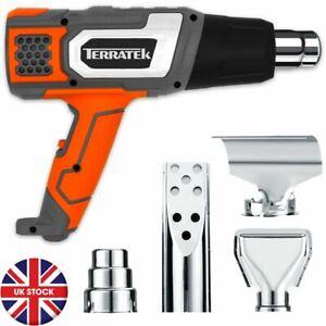 Terratek 2000W Professional Hot Air Heat Gun Paint Stripper 2 Temp Settings