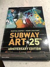 Subway Art(25th Anniversary Edition) by Martha Cooper (Hardback, 2009)