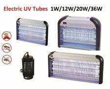 Electric UV Insect Killer Mosquito Fly Pest Bug Zapper Commercial Trap Light UK
