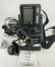 Eagle Fish Easy Portable With 2 Transducers and Case Fish Depth Finder.
