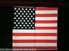 "US FLAG bandana Rothco survival unisex tactical disaster military GIFT 27""big"