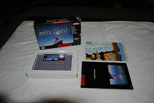 FINAL FANTASY MYSTIC QUEST SUPER NINTENDO GAME SNES COMPLETE IN BOX RPG
