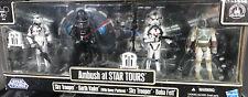 Star Wars Ambush At Star Tours Darth Vader Boba Fett Sky Troopers Disney Parks
