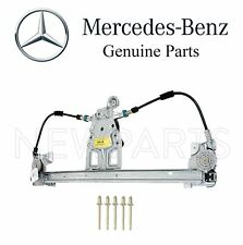Mercedes W140Rear Driver Left Electric Window Regulator no Motor with Rivets OES