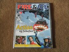 2009 WRC Rally Norway Fire & Ice Official Programme & Magazine