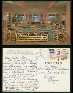 Mayfairstamps Cayman Islands PC 1967 to Eugen OR Galleon Beach Hotel West Bay Be