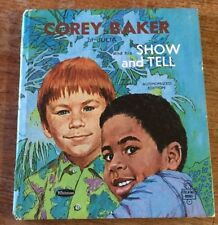 Corey Baker Julia his Show and Tell Gladys Baker Bond 1970 Whitman Tell a Tale