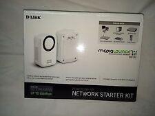 D-LINK NETWORK STARTER KIT Powerline HD DHP 303  200M