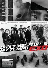 EXO [DON'T MESS UP MY TEMPO] 5th Album ALLEGRO CD+POSTER+F.Buch+Karte+Pre-Order