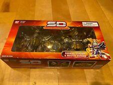 Bandai SD Burning Gundam & Master Gundam Action Figures Superior Defender Gold