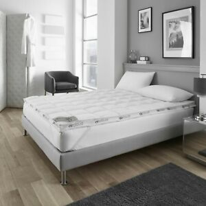 Topper 6CM  Extra Deep Quilted Mattress Bed 100% Microfiber ALL Size UK