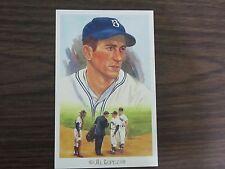 Al Lopez Perez Steele Post Card Brooklyn Dodgers