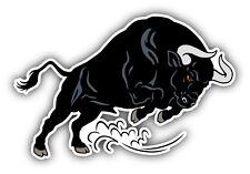 Bull Attack Car Bumper Sticker Decal 5'' x 3''
