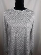 Reel Legands Womens Shirt Long Sleeve Size Large L