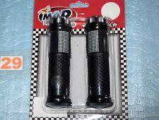 """paire de revêtement de poignées 22mm  MAD ROAD LINE NG5 """" noir /Aluminium""""  neuf"""