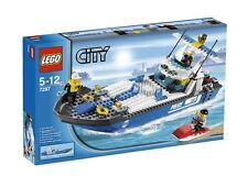 Lego City 7287 Police Boat Complete No Box