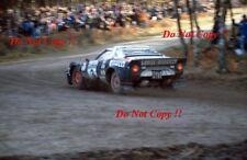 MARKKU ALEN LANCIA STRATOS HF RAC Rally 1978 fotografia 2