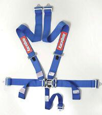 RaceQuip 711021 Red Race Car Seat Belts 5 pt SFI Safety Harness IMCA NHRA UMP