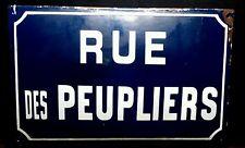 France Street Sign Vintage