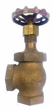 "Crane Cat. 17 1-1/4"" NPT Bronze Disc Valve"