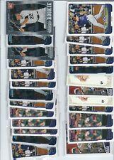 LOT OF 25 JORDAN PACHECO  ROOKIE CARDS COLORADO ROCKIES BOWMAN MINNESOTA TWINS