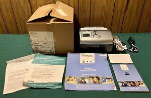 Vtg New LEXMARK P315 Photo Jet Printer & Original Accessories Unused In Box