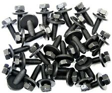 GM Truck Inner Fender Bolts- M8-1.25 x 30mm- 13mm Hex- 24mm Washer- 30 pcs #166T