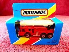 MATCHBOX  1981  MB 18  FIRTE  ENGINE  MADE IN  MACAU  UNOPENED