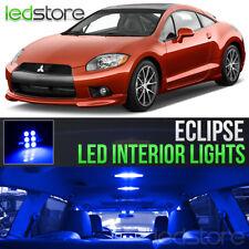 2006-2012 Mitsubishi Eclipse Blue LED Lights Interior Kit Package Bulbs