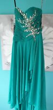 Jasmin Dynasty Green Dress Small 6 - Formal / Prom / Pageant / Special Occasion