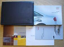 AUDI A6 C5  HANDBOOK OWNERS MANUAL WALLET 2001–2004 PACK 8351 !