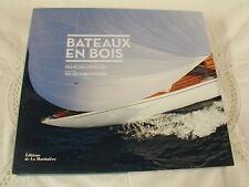 BATEAUX EN BOIS - FRANCOIS CHEVALIER - NEUF