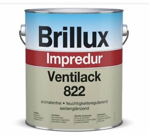 3 Liter Brillux Ventilack 822 Weiß