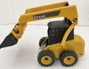 ERTL John Deere Skid Steer Loader Plastic Toy Truck GUC, Deere Power Farm Agri