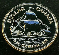 "1979 Canadian $1.00 Silver Specimen Silver Dollar • ""Griffon Tricentennial"""
