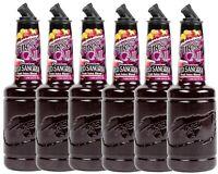 6 Pack Finest Call 1 Liter Premium Red Sangria Mix Mixer WEB Sweetener