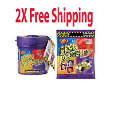 2X Jelly BELLY BEAN BOOZLED 1.9oz + MYSTERY DISPENSER GAME 3.5oz 2 pack #102249H