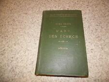 1906.Traité complet du jeu des échecs.Numa Preti