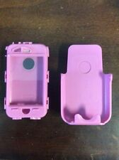 Otterbox Defender iphone 3G Pink Cell Phone Case Protector Plastic Pre Owned
