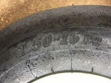 2wd 3 rib front tractor wheels 750/16 brand new rims tubes and tyres