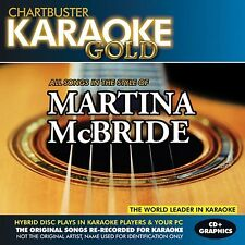Karaoke Gold: Songs in the Style of Martina McBride [CD]