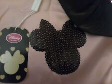 BNWT Girls Disney Store Minnie Mouse Pink/Black Party Dress age 6-7 years