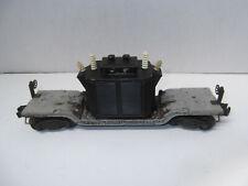 LionePostwar #2461 Die Cast  Flat Car W/Black Transformer