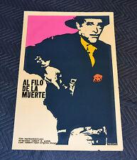 1970 Original Cuban Silkscreen Movie Poster.The Proud Ones.Cowboy.Western film.