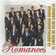 CD - La Arrolladora Banda El Limon De Rene Camacho NEW Romances FAST SHIPPING !