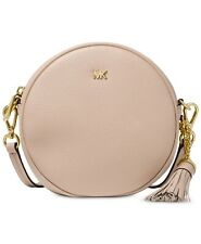 On Hand Authentic MICHAEL KORS PEBBLE LEATHER CANTEEN CROSSBODY- Soft Pink