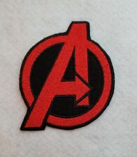 Avengers Super Hero 3 1/2 inch  Iron on Embroidered Applique Patch